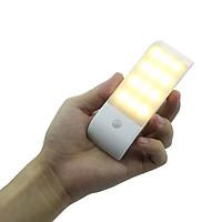 Đèn LED Cảm Biến Cho Tủ Quần Áo Dùng Pin Sạc DL012