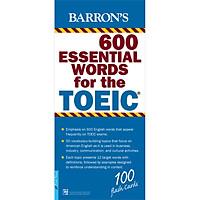 Hộp Flash Cards - Barron's 600 Essential Words For The TOEIC (Tái Bản)