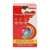 Thực phẩm bảo vệ sức khỏe Omega Mama bổ sung Vitamine tổng hợp cho phụ nữ mang thai và đang cho con bú-Lọ 60 viên
