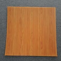 Bộ 10 tấm Xốp dán tường 3D giả gỗ