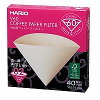 Giấy lọc cà phê Hario V60 40 cái
