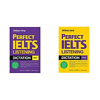 Bộ sách Perfect IELTS Listeng Dictation Vol.1 + 2 (02 Cuốn)