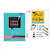 Combo Sách Hay Học Tiếng Trung: Tập Viết Chữ Hán Cho Người Mới Bắt Đầu + Tự Học Tiếng Trung Dành Cho Người Việt (Học Kèm App MCBooks Application, Tặng Audio Luyện Nghe)