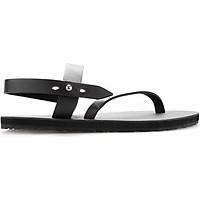 Giày Sandal Nam Quai Chéo Casual - Nâu