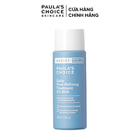 Tinh chất loại bỏ tế bào chết và se khít lỗ chân lông Paula's Choice Resist Daily Pore Refining Treatment 2% BHA 30ml