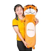 Gấu bông gối ôm hình sư tử size 1m2