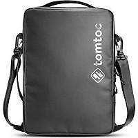 TÚI ĐEO CHÉO TOMTOC H14 (USA) URBAN SHOULDER BAGS FOR MACBOOK, LAPTOP, ULTRABOOK 13.3″ BLACK - Hàng chính hãng