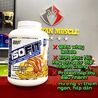 Nutrex ISOFIT, Sữa Tăng Cơ, Hỗ Trợ Đốt Mỡ, Bổ Sung 25G Whey Protein Isolate Tinh Khiết - Không Chứa Lactose, 12.2G EAA, 5.9G BCAA, Hộp 2.3KG, 70 Lần Dùng