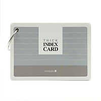 Flash Card Thick Ver.2 82898 - Màu Xám