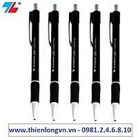 Combo 5 cây bút bi 0.7mm Thiên Long - TL036 màu đen