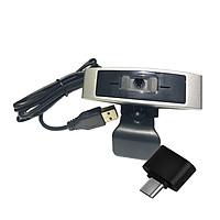 Webcam Dùng Cho Máy Tính, Laptop CM330G Kèm Đầu OTG