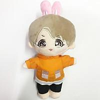 Doll Jungkook full anpanman búp bê BTS 20cm có mông tặng ảnh thẻ BTSphụ kiện dành cho doll nhóm nhạc idol, anime chibi tặng ảnh thiết kế vcone
