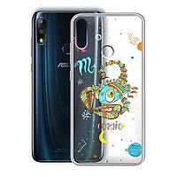 Ốp lưng In Nổi Họa Tiết cho điện thoại Zenfone Max Pro M2 - 01219 8040 SCOSPIO 01 - Cung Thiên Yết - Silicone Dẻo - Hàng Chính Hãng