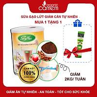 Sản phẩm thực dưỡng -Bột sữa mầm gạo lức SoyNa - Không đường