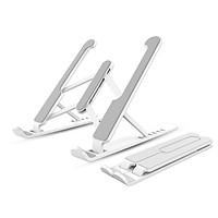Giá đỡ Laptop, Macbook, Ipad máy tính xách tay 13.3-14-15.6 inch nhựa ABS có thể gấp gọn, chỉnh độ cao, hỗ trợ tản nhiệt