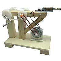Đồ Chơi Khoa Học - Bộ Lắp Ghép Máy Phát Điện Bằng Gỗ Theo Phương Pháp Giáo Dục Stem Steam
