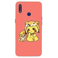 Ốp điện thoại dành cho máy Oppo Realme 3 Pro - Chó Pikachu MS ACQTU017