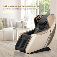 Ghế massage toàn thân cao cấp Poongsan Hàn Quốc MCP- 122 (Hàng chính hãng)