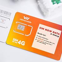 Sim Now Data 6 tháng - 5GB/ngày Miễn phí 6 tháng đầu tiên - Chính hãng Vietnamobile