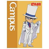 Bộ 5 Vở Campus Conan Cute 96 Trang - 4 Ô Ly - NB-ACNC96 - Mẫu 1