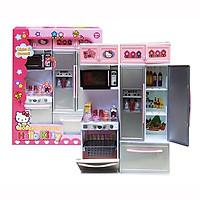 Bộ Đồ Chơi Nhà Bếp Hello Kitty Gồm Loại 2 Khoang, 3 Khoang Cho Bé