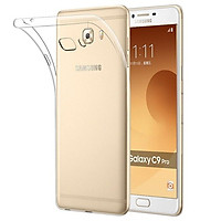 Ốp lưng dẻo cho Samsung Galaxy C9 Pro hiệu Ultra Thin mỏng 0.6mm chống trầy - Hàng chính hãng