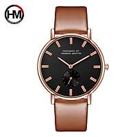 Đồng hồ dây da Hannah Martin 2138 kiểu dáng sang trọng dành cho nữ HM-2138CH