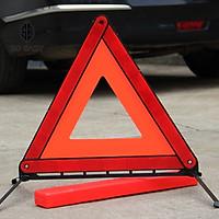 Biển báo tam giác phản quang cảnh báo nguy hiểm cho ôtô, xe hơi, xe khách, xe tải, xe container khi dừng đậu xe dễ gấp gọn có chân đứng,đảm bảo an toàn giao thông cho mọi người._ BB01 (màu đỏ)