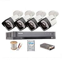 Trọn bộ 4 camera thân 5.0MP HIKVISION DS-2CE16H0T-ITF - Ổ cứng 1TB - Hàng chính hãng