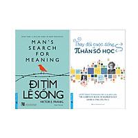 Combo 2 Cuốn Sách: Đi Tìm Lẽ Sống + Thay Đổi Cuộc Sống Với Nhân Số Học