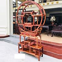 Tủ Bày Đồ Bình Phong thủy , Kệ trưng bày gỗ hương , kệ làm vách ngăn trang trí , kệ gỗ