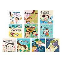 Combo Bộ Sách Giáo Dục Giới Tính Dành Cho Trẻ 3 Tuổi (10 Cuốn)