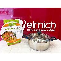 Nồi lẩu inox ELmich Smartcook 3791 size 26cm