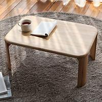 Bàn Trà Sofa C Table Nội Thất Kiểu Hàn - Gỗ Tự Nhiên (Size XS)