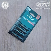 Pin sạc AAA Fujitsu 900mAh vỉ 4 Viên made in JAPAN - nội địa Nhật Bản (đen)