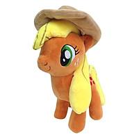 Ngựa Pony cam size 30cm nón màu ngẫu nhiên