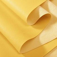 Vải da simili PVC - vải PU - vải giả da làm handmade - khổ 1,4m màu vàng
