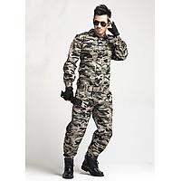 Bộ Quần Áo Rằn Ri Lính Mỹ US ARMY Túi Hộp Chiến Thuật [Tặng Thắt Lưng]