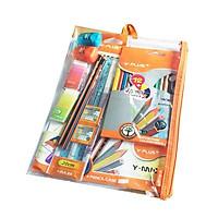 Bộ đồ dùng học tập YPLUS/CP160400 tặng bộ tập tô màu