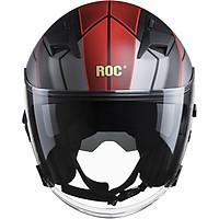 Nón bảo hiểm 3/4 ROC R02 V1
