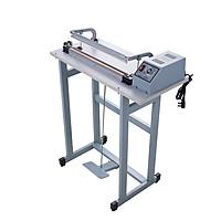Máy hàn miệng túi dập chân FS01-40 (thanh hàn đơn).  Phù hợp sử dụng trong các dây chuyền sản xuất cần yêu cầu cao về tốc độ. Hàng chính hãng Thái Lan