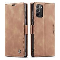 Bao da thật dạng ví chính hãng Caseme dành cho Samsung Galaxy Note 20 - Hàng chính hãng