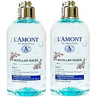 Combo 2 Nước Tẩy Trang Sạch Sâu Micellar Water Deep Cleansing Lamont En Provence (250ml x 2 Chai)