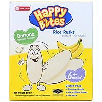 Bánh Gạo Happy Bites Chuối 50g