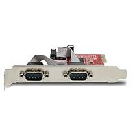 Card PCI-e to 2 cổng Com RS232 Unitek Y-7504