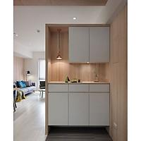 Tủ bếp gỗ trang trí nội thất cao cấp (mã TK023)