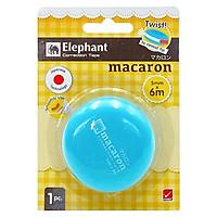 Bút Xóa Kéo Elephant - MACARON - Xanh Da Trời