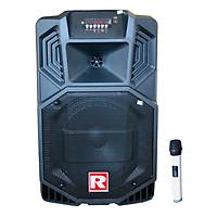 Loa kẹo kéo karaoke bluetooth Ronamax V8 - Hàng chính hãng