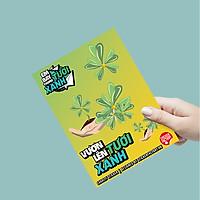 Vươn Lên Tươi Xanh - Charity Sticker Dự án gây quỹ cho trẻ em khó khăn Single Sticker