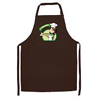 Tạp Dề Làm Bếp In Hình Mom chef - ABZTU002 – Màu Nâu
